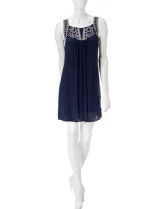 Bailey Blue Blue Everyday & Casual Shirt Dresses