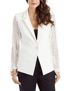 XOXO Lace Back Blazer