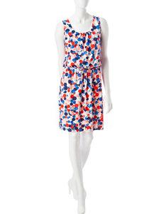 Lennie Navy Everyday & Casual A-line Dresses