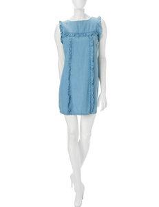Sharagano Blue Everyday & Casual Shift Dresses