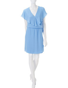 Signature Studio Blue Everyday & Casual Fit & Flare Dresses