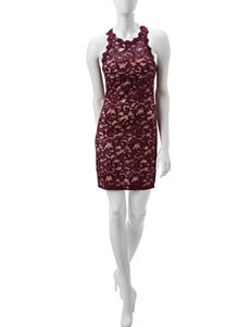 My Michelle Red Cocktail & Party Everyday & Casual Sheath Dresses