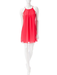 A. Byer Red Everyday & Casual Shift Dresses