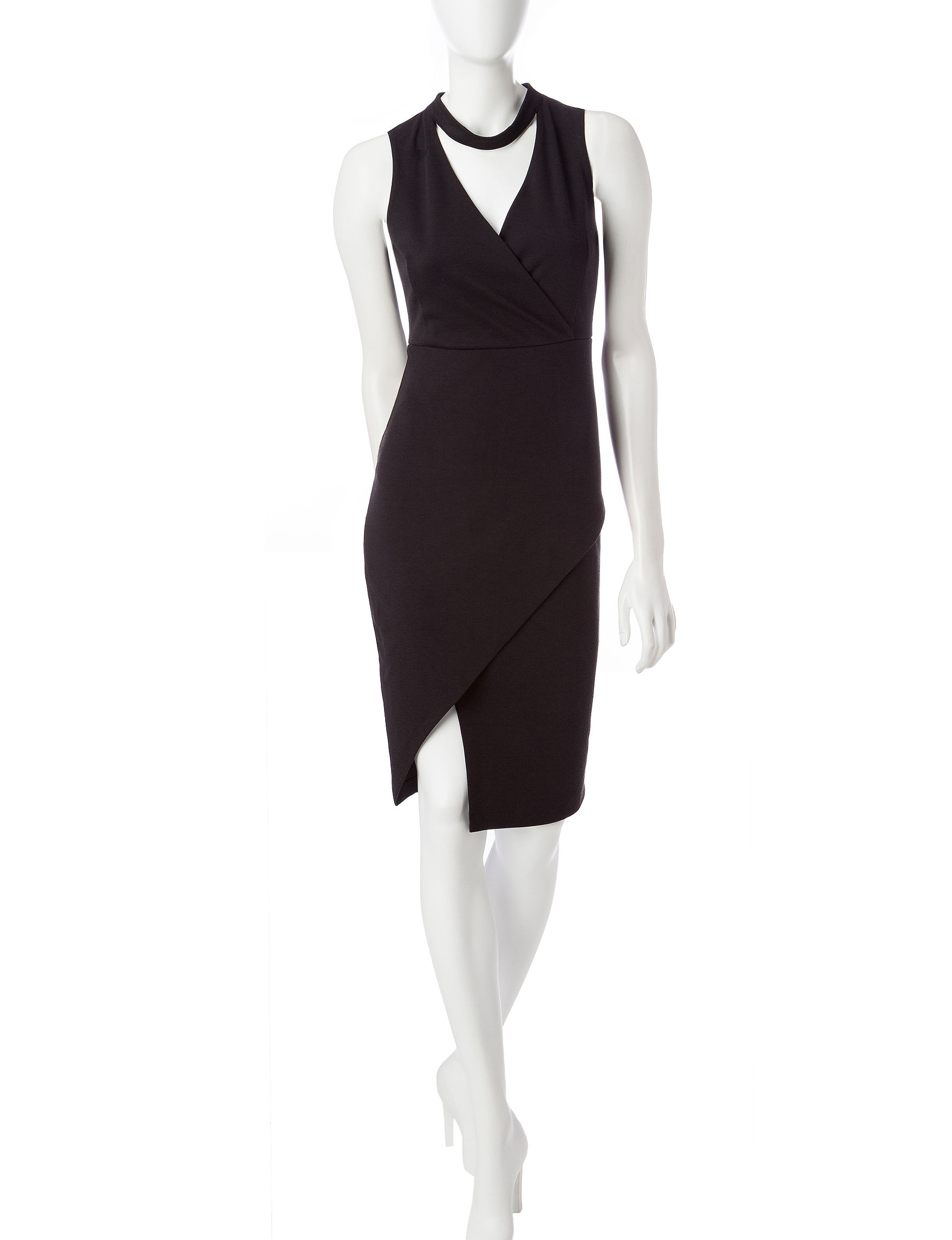 Almost Famous Black Everyday & Casual Sheath Dresses
