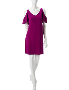 MSK Pink Everyday & Casual Shift Dresses