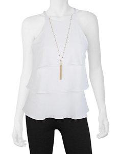 A. Byer White Shirts & Blouses