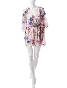Bailey Blue Pink Everyday & Casual Fit & Flare Dresses