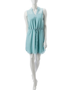 Wishful Park Blue Everyday & Casual Fit & Flare Dresses