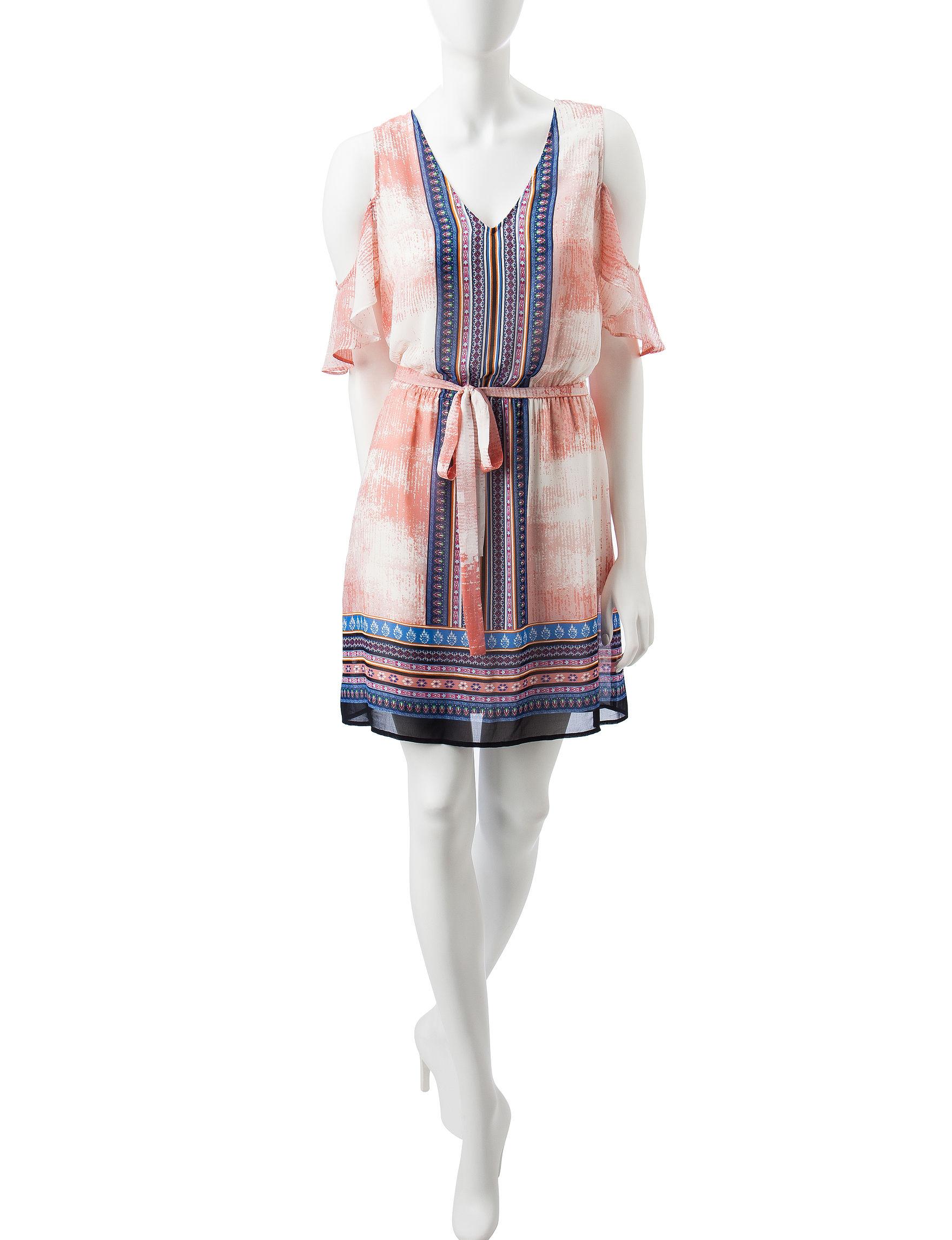 Signature Studio Pink Everyday & Casual Shirt Dresses