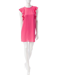 Signature Studio Magenta Everyday & Casual Shift Dresses