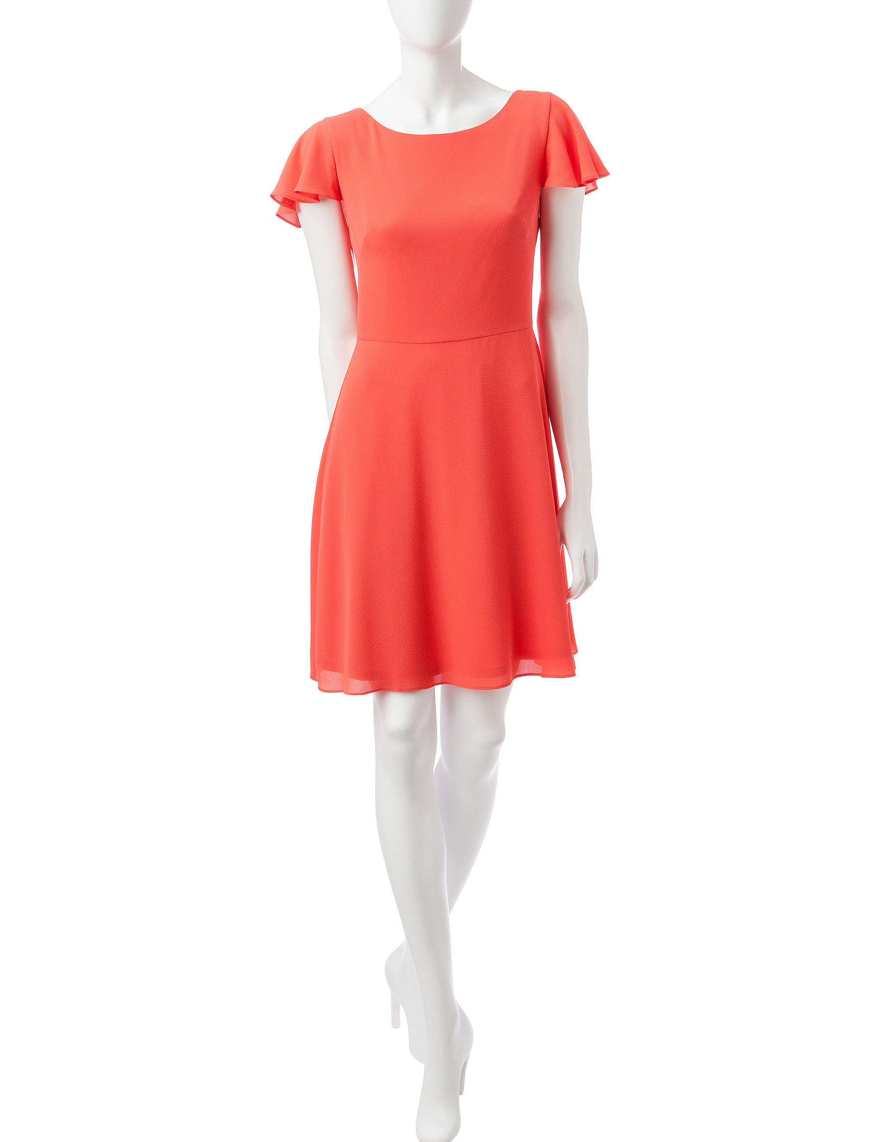 London Times Coral Everyday & Casual