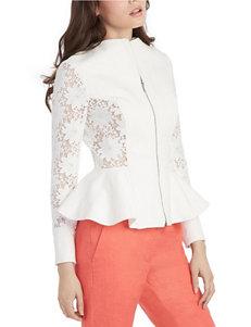XOXO White Lightweight Jackets & Blazers