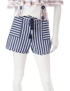 My Michelle Navy Soft Shorts