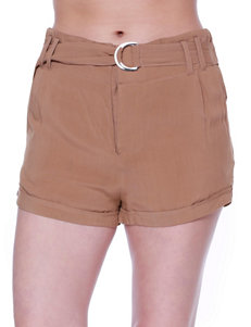 C and J Collection Olive Soft Shorts