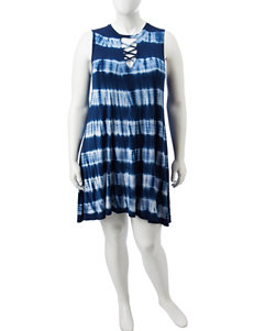 Liberty Love Navy Everyday & Casual Shift Dresses