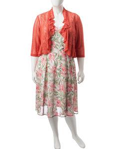 Connected 2-pc. Plus-size Jacket & Dress Set