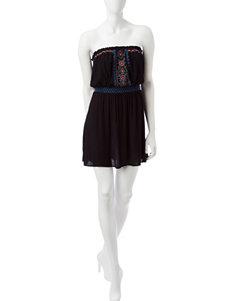 Signature Studio Black Everyday & Casual Fit & Flare Dresses