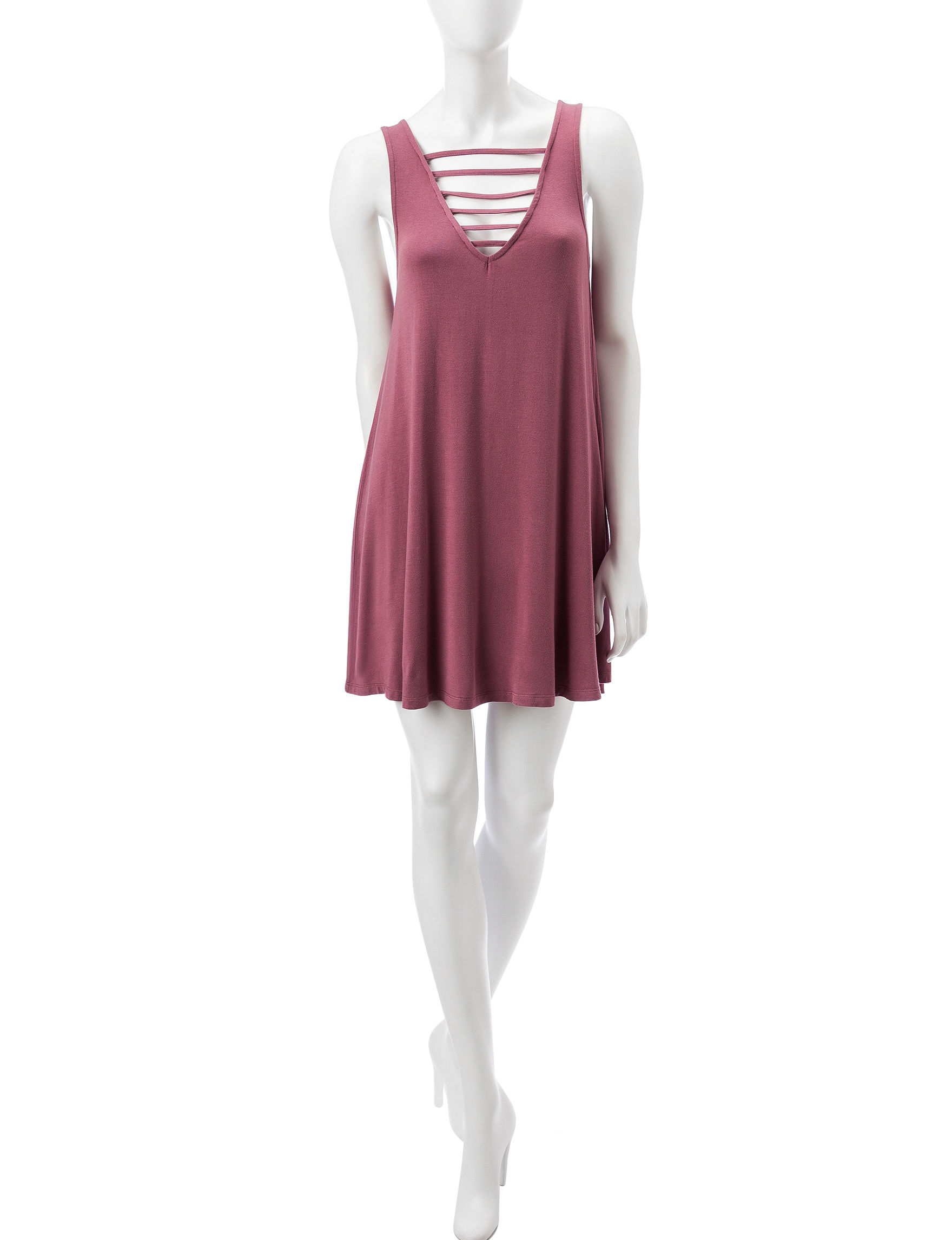 Wishful Park Mauve Everyday & Casual Shift Dresses
