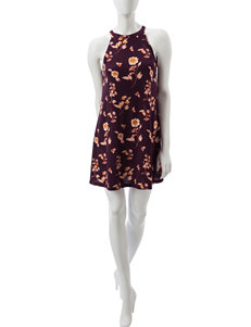 Wishful Park Purple Everyday & Casual Shift Dresses