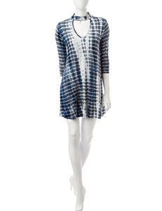 Heart Soul White / Black / Blue Everyday & Casual Shift Dresses