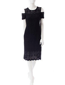 Ronni Nicole Black Everyday & Casual A-line Dresses