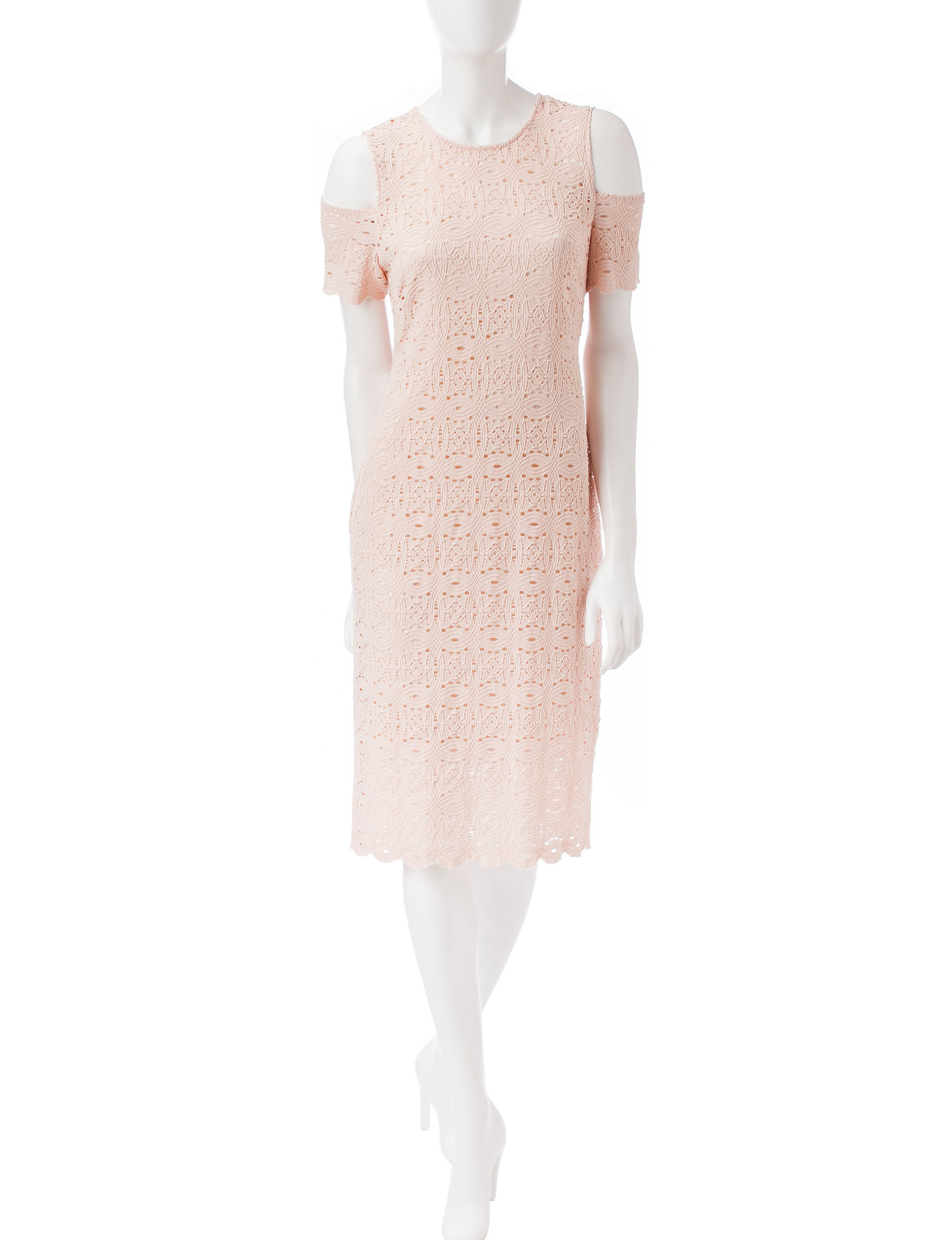 Ronni Nicole Blush Everyday & Casual A-line Dresses
