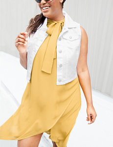 Paper Doll Mustard Everyday & Casual Shift Dresses