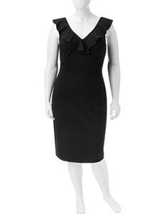 Paper Doll Black Everyday & Casual Sheath Dresses