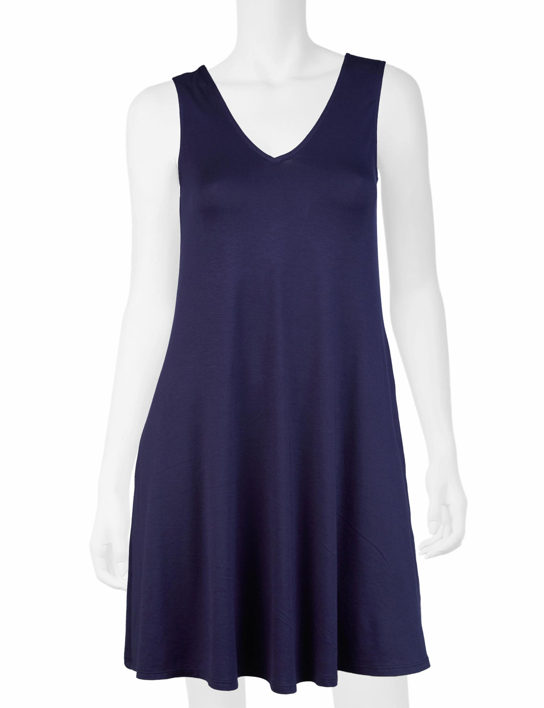 A. Byer Navy Everyday & Casual Shift Dresses