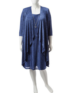 R & M Richards 2-pc. Plus-size Jacket & Dress Set