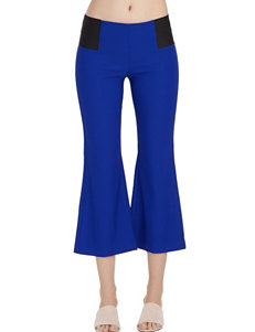 XOXO Blue Capris & Crops Soft Pants