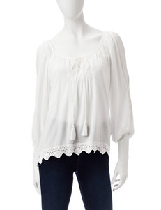 My Michelle Ivory Shirts & Blouses