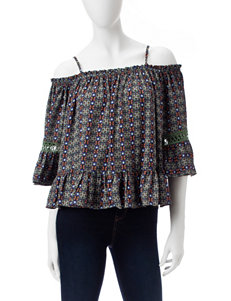 My Michelle Cold Shoulder Top