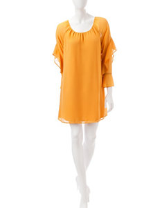 Signature Studio Mustard Everyday & Casual Shift Dresses
