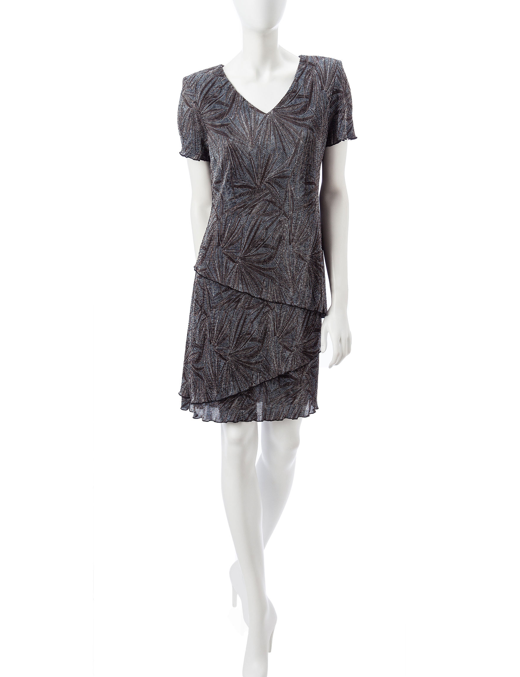 Connected Slate Everyday & Casual Shift Dresses