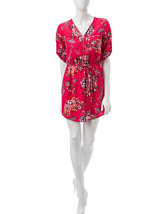 Wishful Park Pink Everyday & Casual Shirt Dresses
