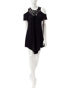 Wishful Park Black Everyday & Casual Shift Dresses