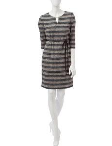 Sandra Darren Black Everyday & Casual A-line Dresses