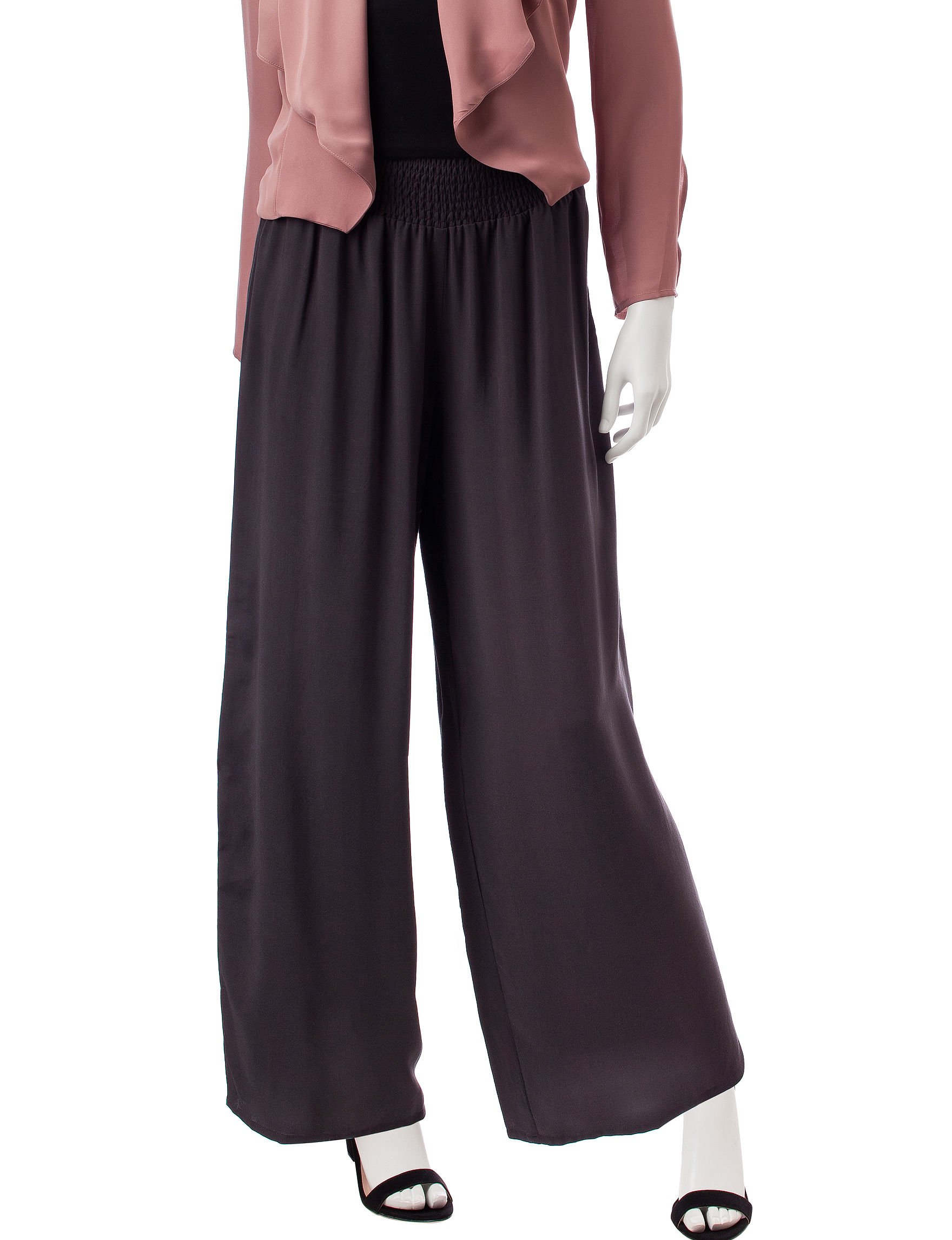 C and J Collection Dark Grey Soft Pants