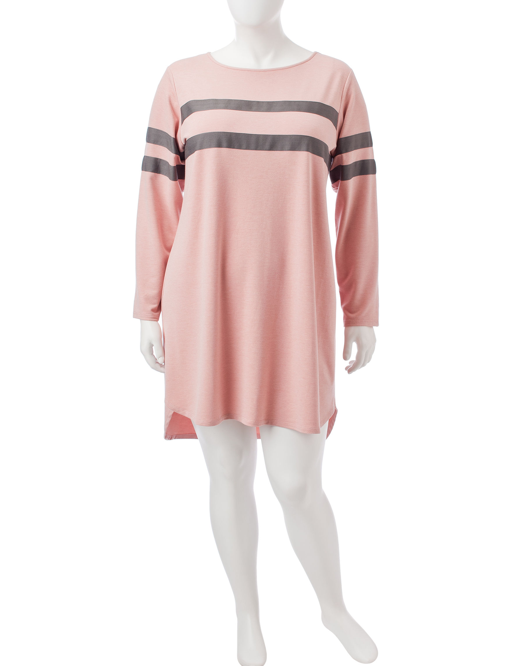 Emma & Michele Pink Everyday & Casual Shift Dresses