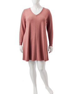 Emma & Michele Brown Everyday & Casual Shift Dresses