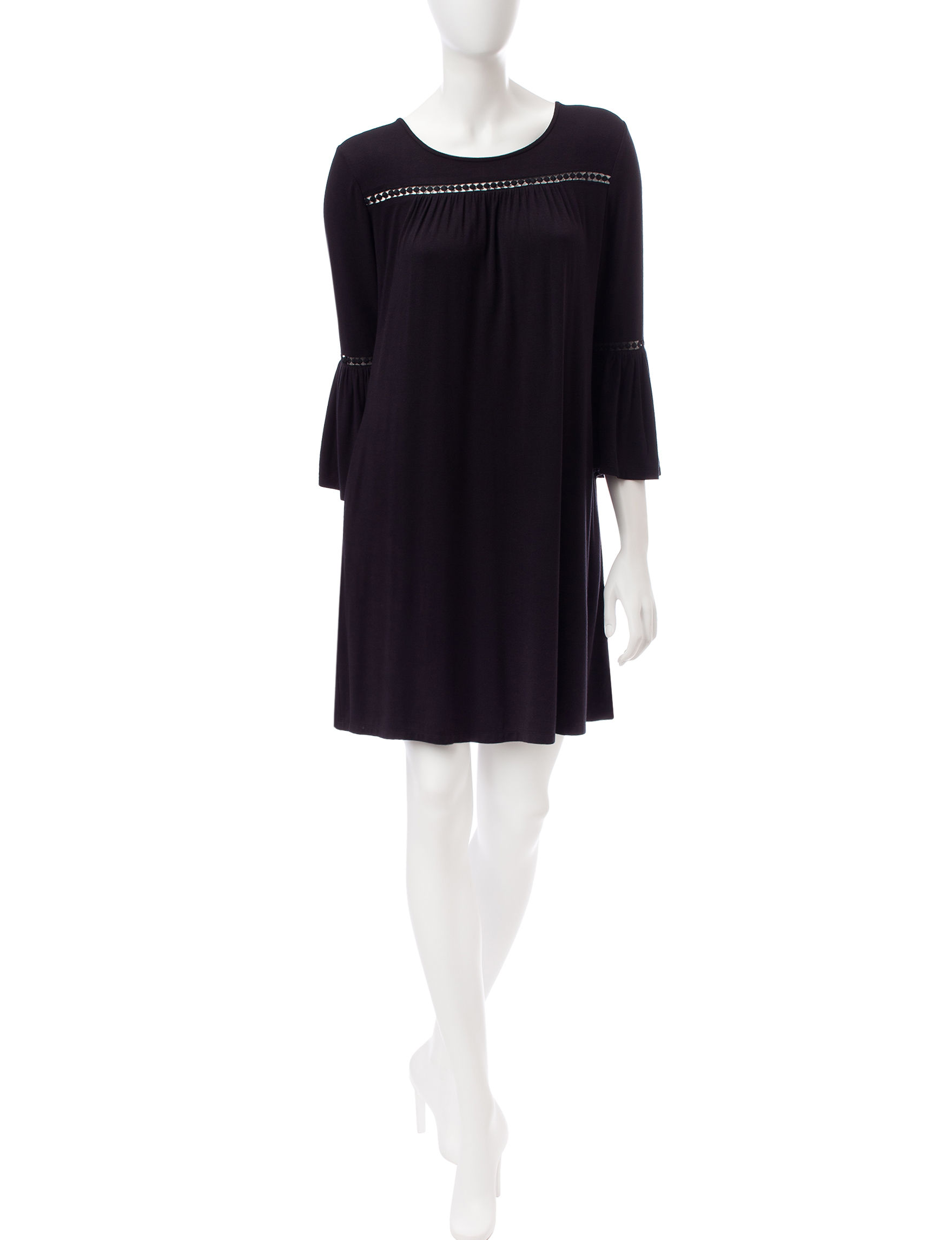 Lennie Black Everyday & Casual Shift Dresses