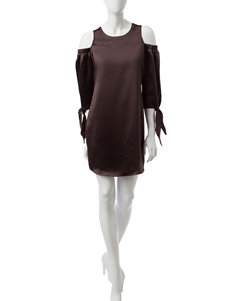 Signature Studio Bronze Everyday & Casual Shift Dresses