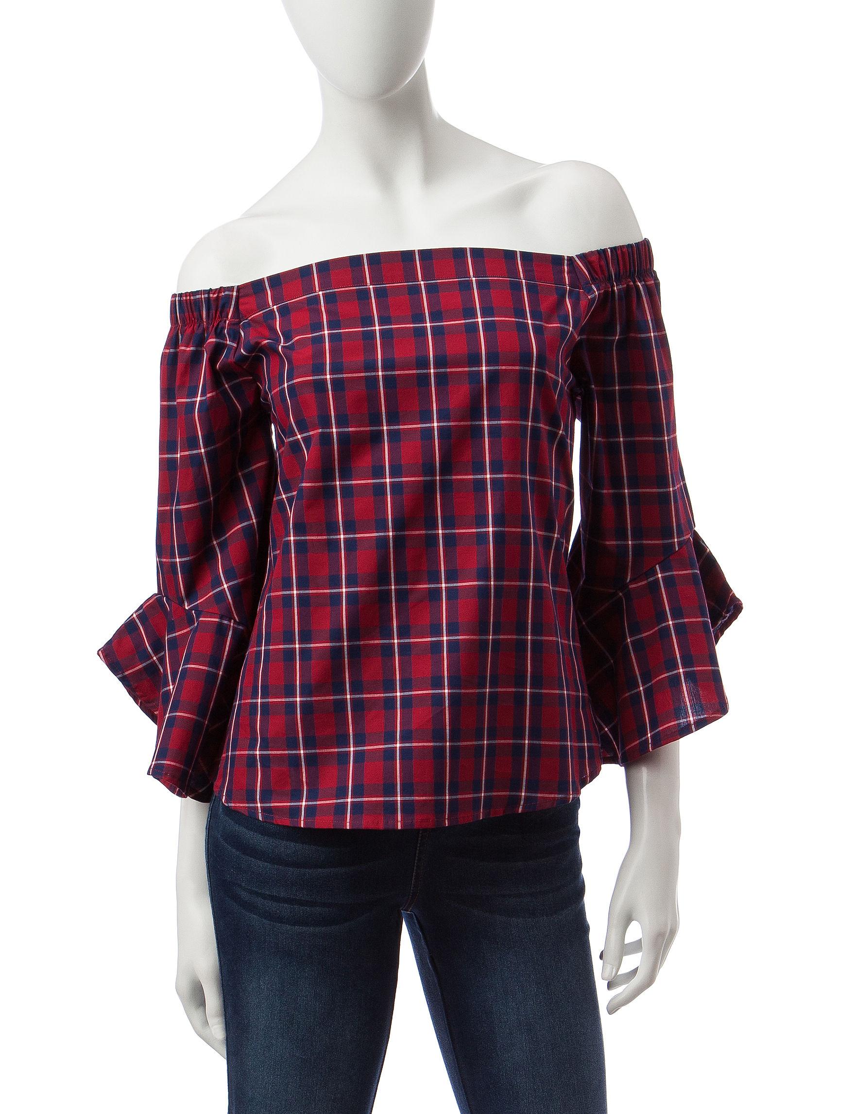 Heart Soul Multi Shirts & Blouses