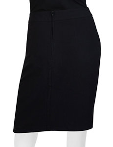 A. Byer Scalloped Pencil Skirt