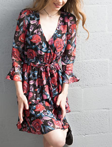 Trixxi Multi Everyday & Casual Fit & Flare Dresses