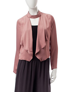 My Michelle True Mauve Lightweight Jackets & Blazers