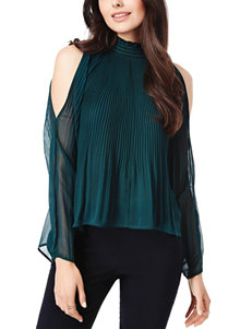 XOXO Hunter Green Shirts & Blouses