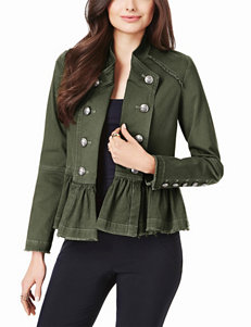 XOXO Olive Lightweight Jackets & Blazers