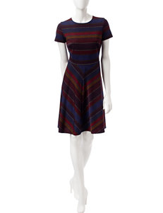 Sangria Multi Everyday & Casual A-line Dresses